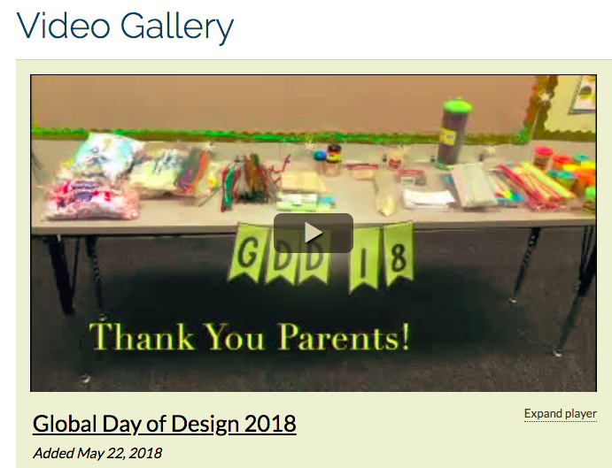 Video: Global Day of Design 2018 Featured Photo