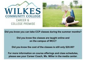 WCC Summer Classes