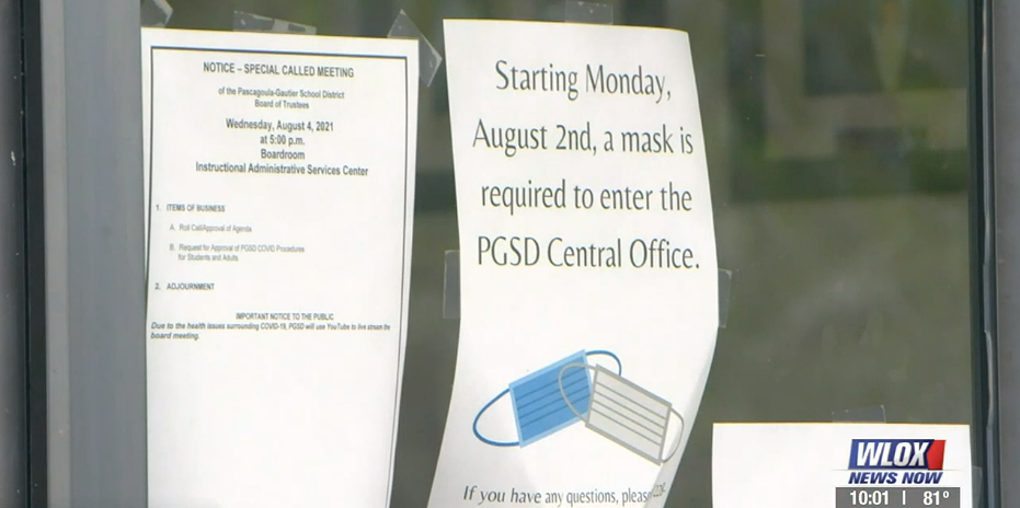 Students in Pascagoula, Gautier head back to school with masks on