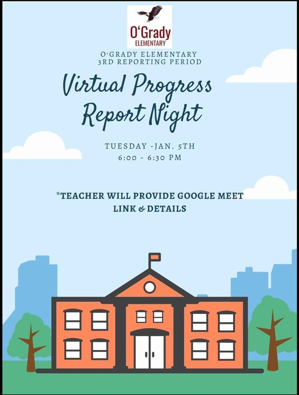 Progress Report Card Night (3rd reporting period) Featured Photo