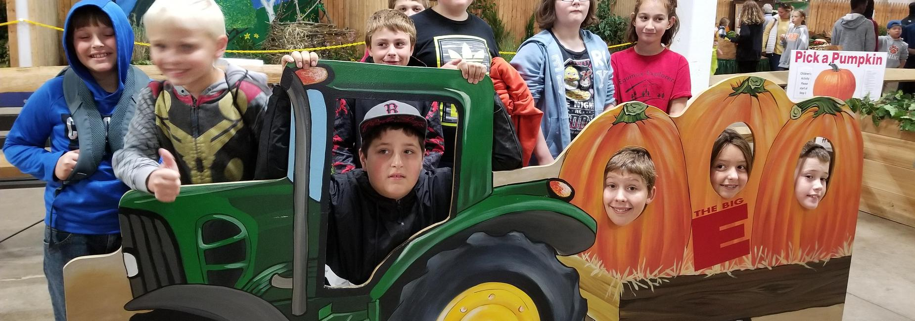 Students at Big E Fair