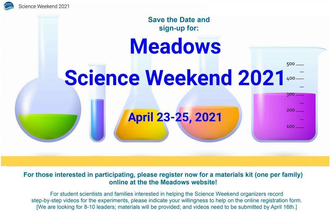 meadows science weeekend