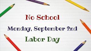 no school september 2nd