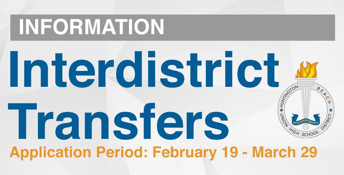 Interdistrict Transfers