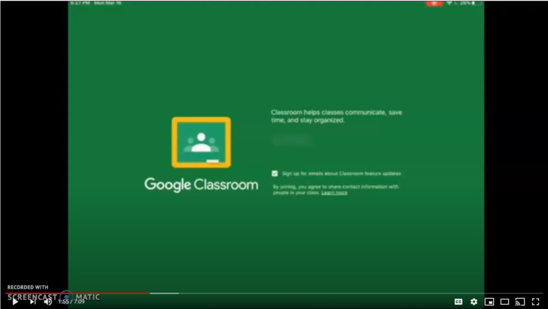 How to use Google Classroom (Spanish)