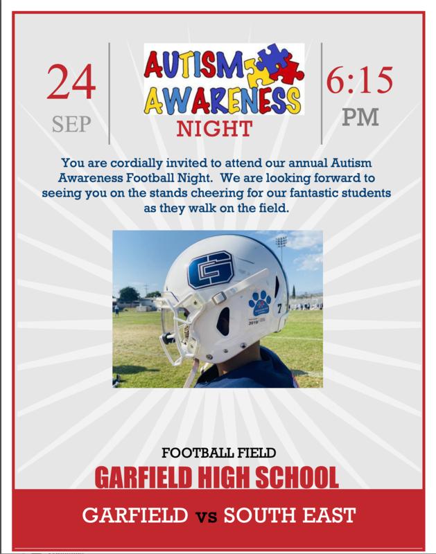 Autism Awareness Night