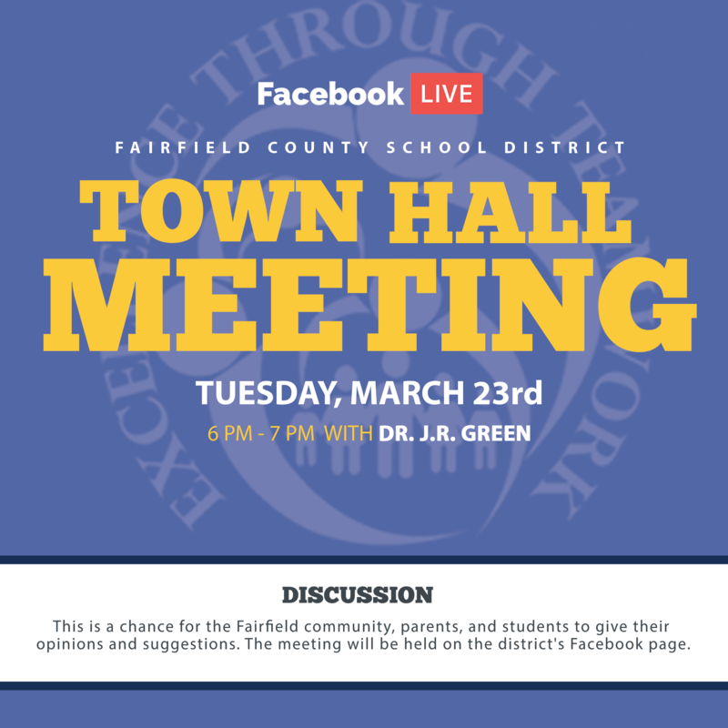 FCSD Facebook Live Town Hall Meeting with Dr. J.R. Green Featured Photo