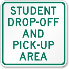 Student Drop-Off and Pick-Up Area image