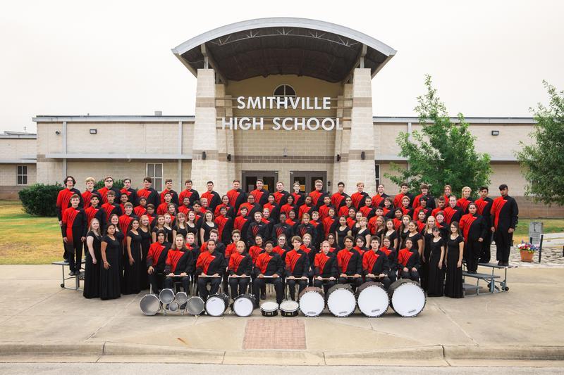SHS Tiger Band Group Photo