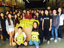 National Junior Honor Society takes care bags to Camp Pendleton in Operation Be Kind