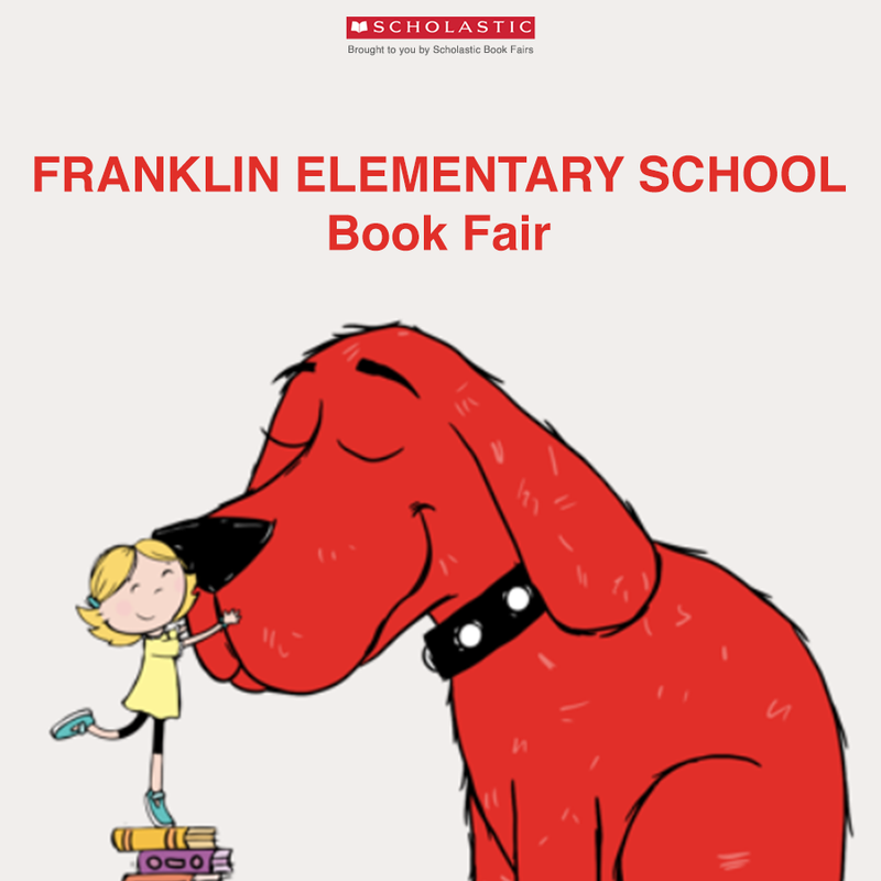 Franklin Elementary School Book Fair! Thumbnail Image
