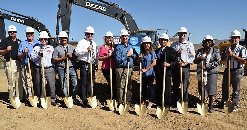 August 5, 2019 Groundbreaking ceremony for Alberhill Elementary School, to open in August of 2020.