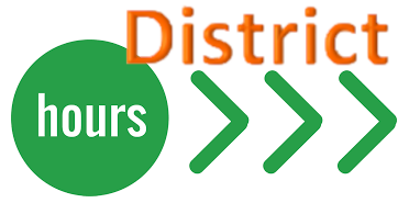 District Hours Logo