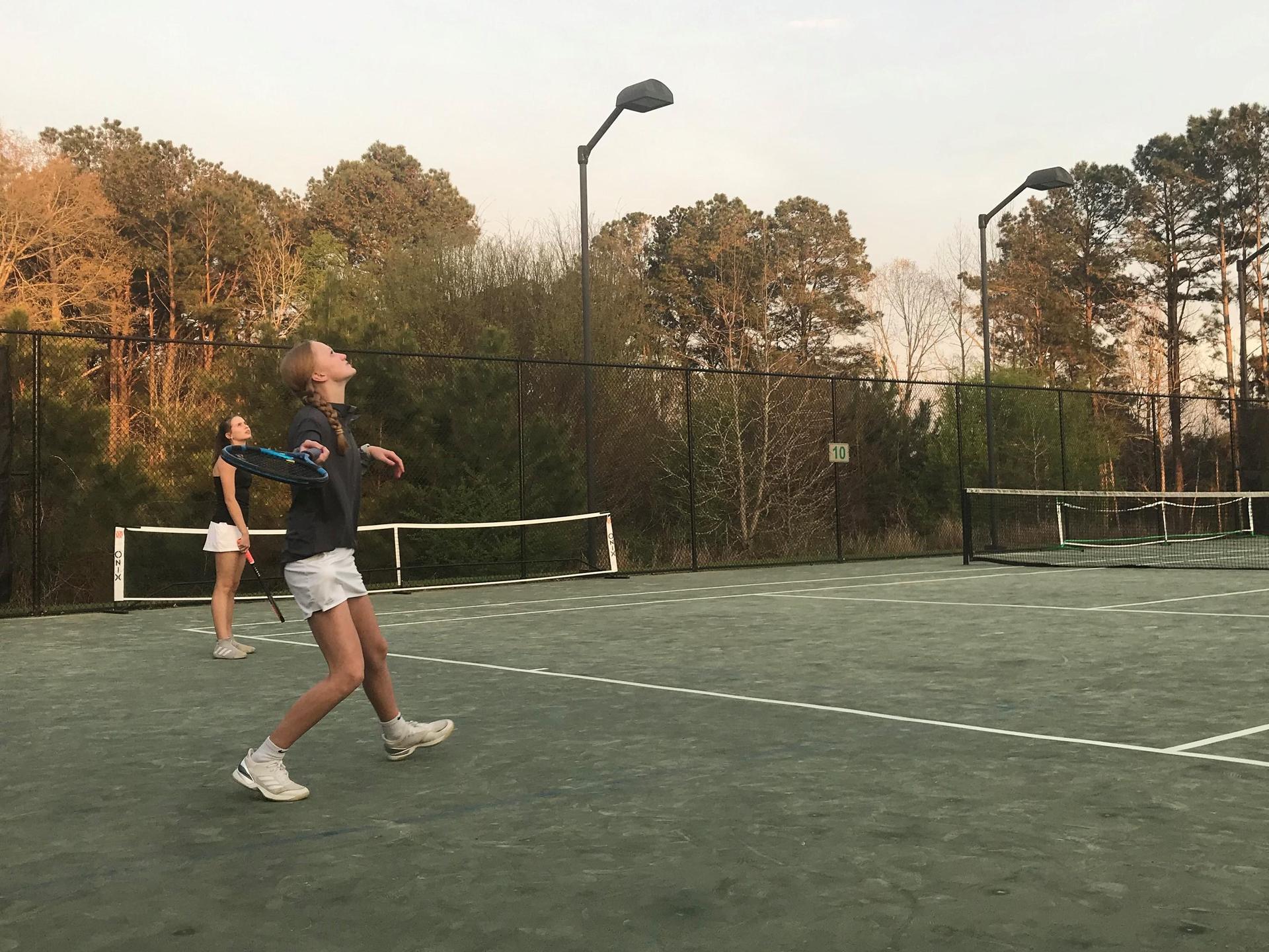 WLHS Tennis Action