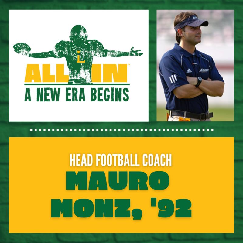 Head Coach Mauro Monz, '92
