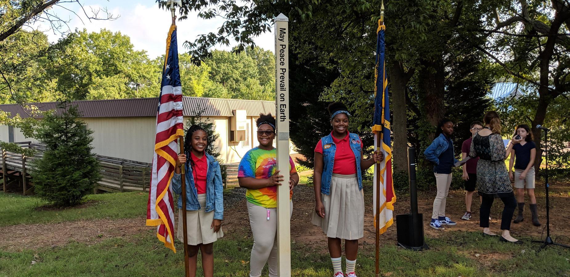 International Peace Day at Highland Mill Montessori