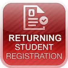 Returning Student Registration