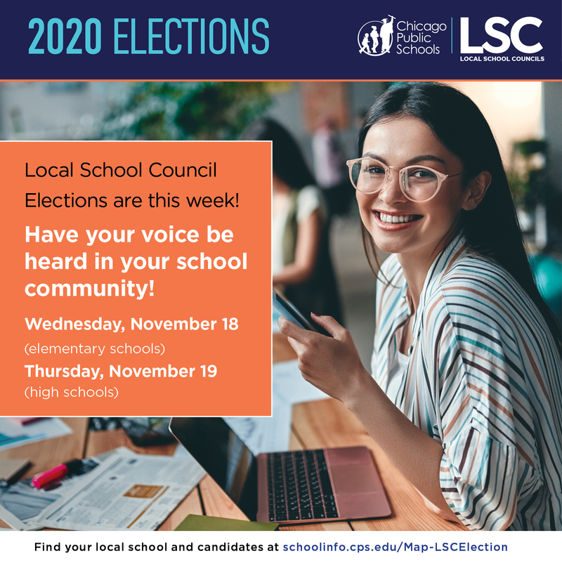 Local School Council Elections are this week!| ¡Las elecciones del concilio escolar local son esta semana! Featured Photo