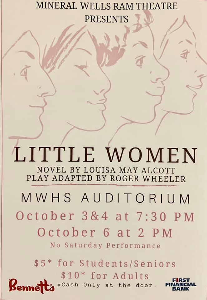 Little Women Show Poster