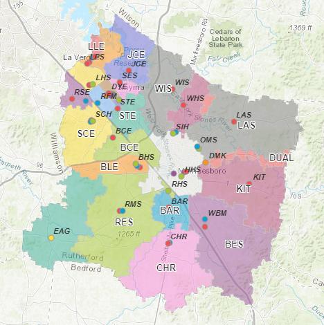 2019-2020 School Zoning Map Thumbnail Image