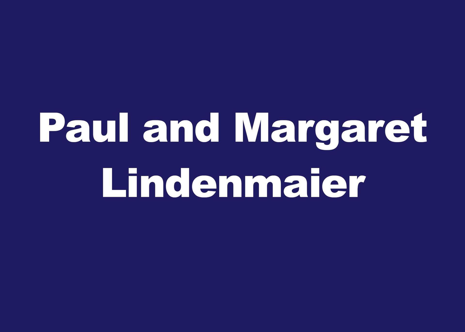 Paul & Margaret Lindenmaier