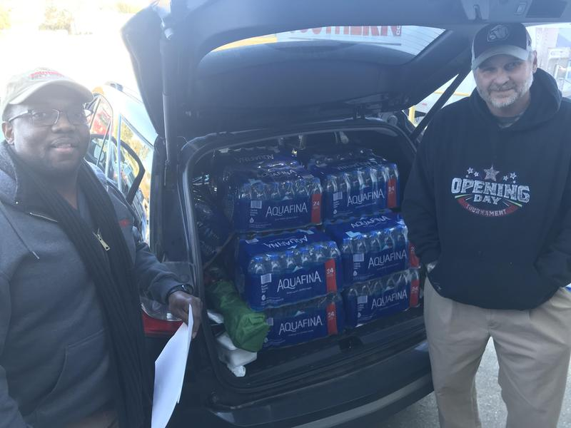 Southern Pipe & Supply Bottled Water Donation Photo
