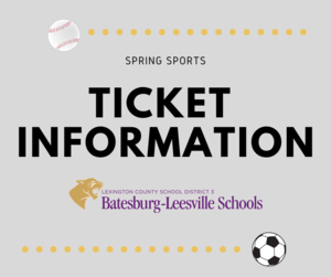 Spring Sports Ticket Information