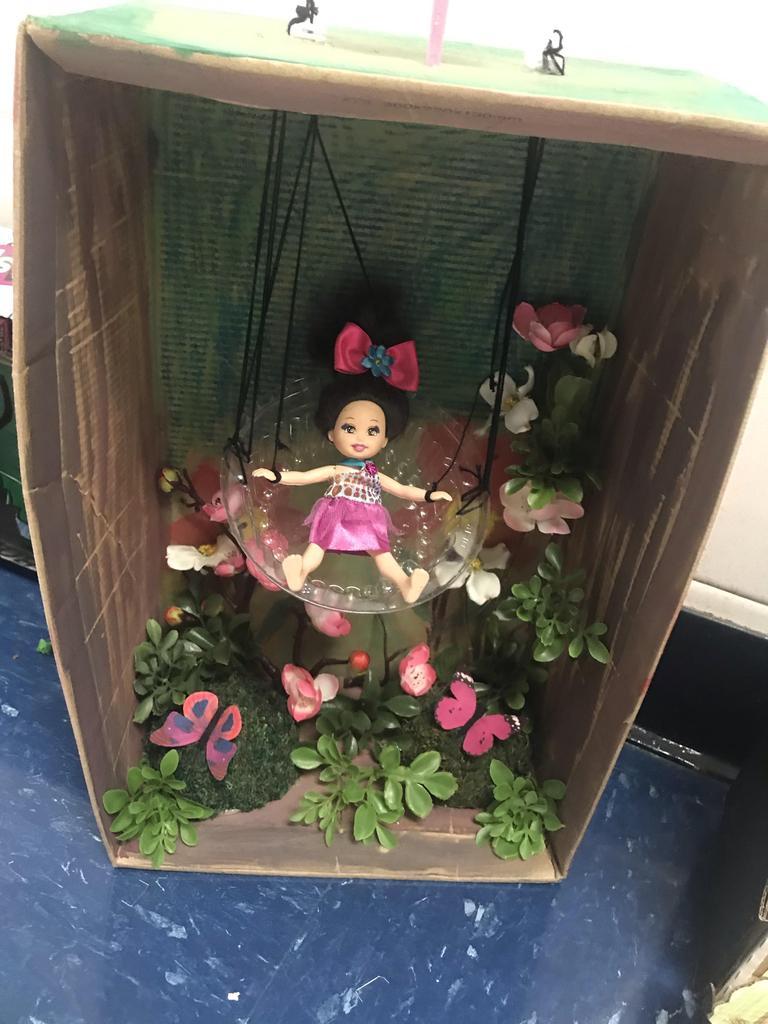 Mulan diorama