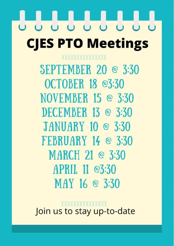 PTO Meeting Dates