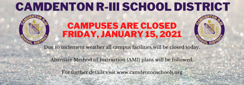 Campus Closed - Friday, January 15th Featured Photo