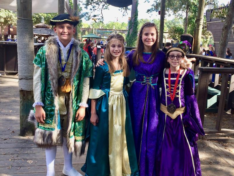 MVMS Costume Winners Tex Ren Fest