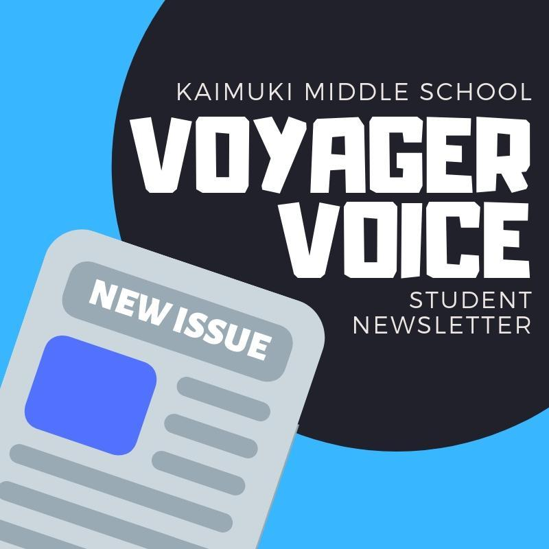 The VOYAGER VOICE is here! Featured Photo