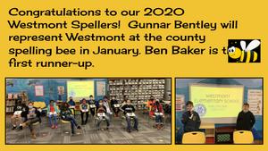 2020 WES spelling bee