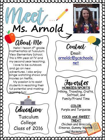About Ms. Arnold