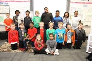 Students at B-L Elementary School came together during the holiday season to provide non-perishable food items to some of Lexington Three's less fortunate children.