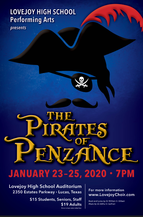 Don't Miss Pirates of Penzance!