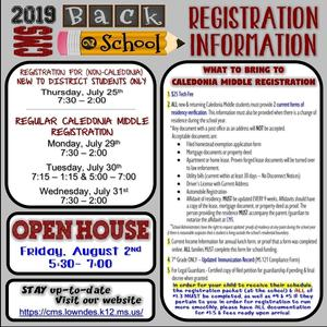 CMS Registration Information