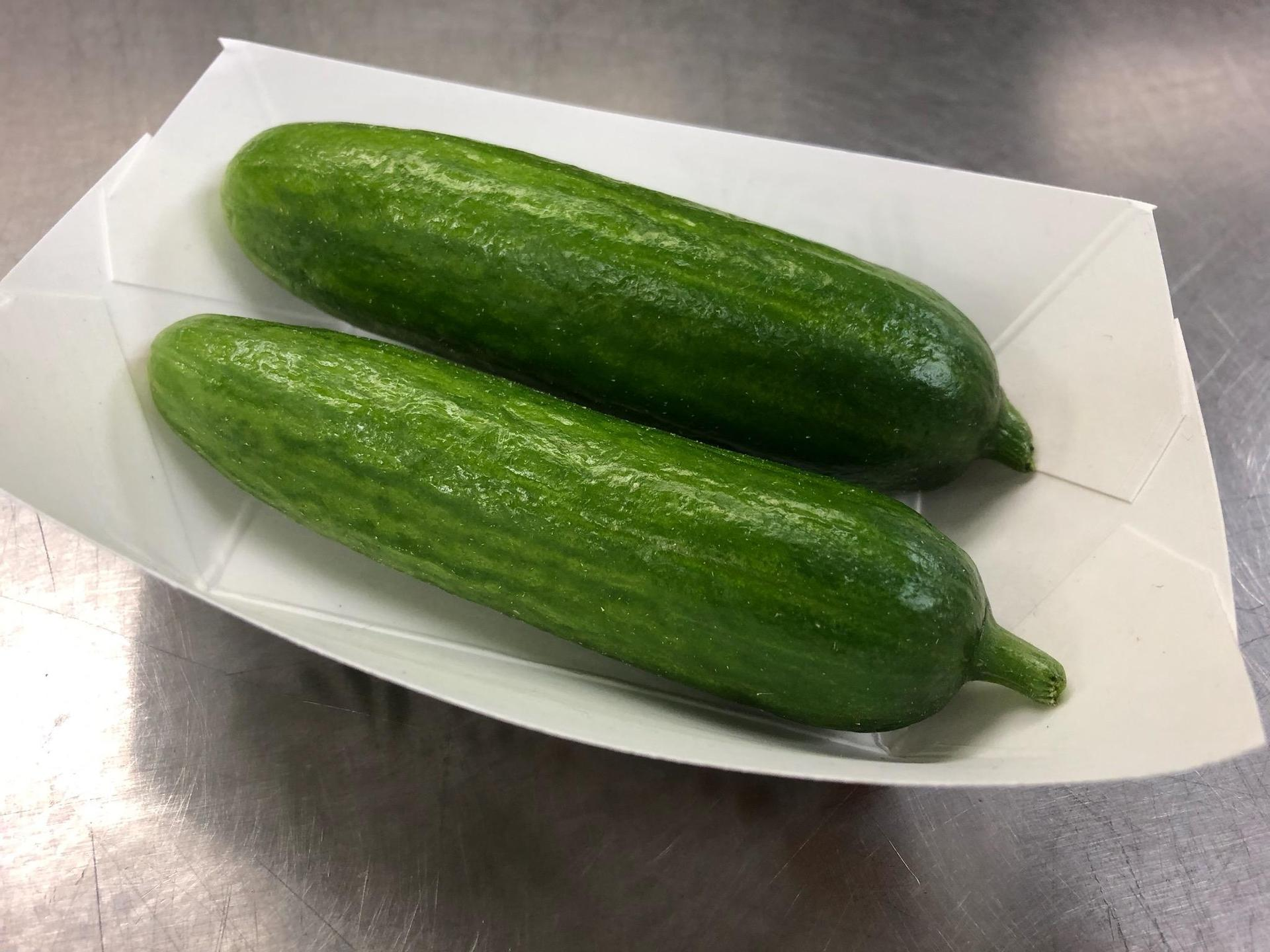 Ledgview Gardens cucumbers