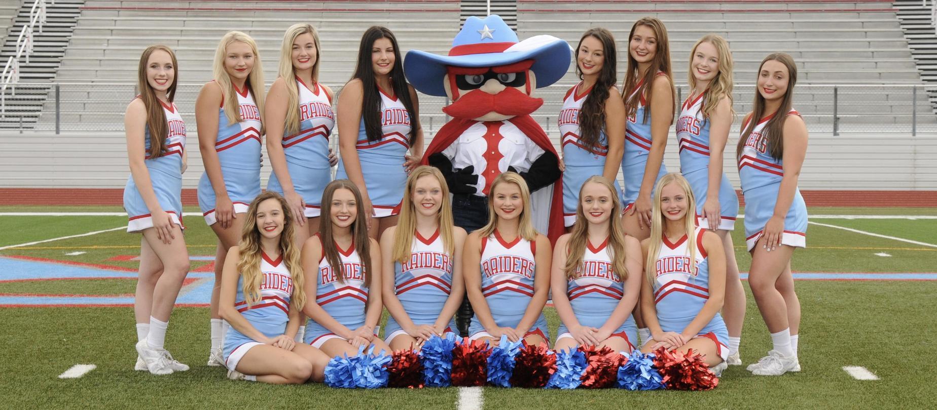 LHS Varsity Cheerleaders