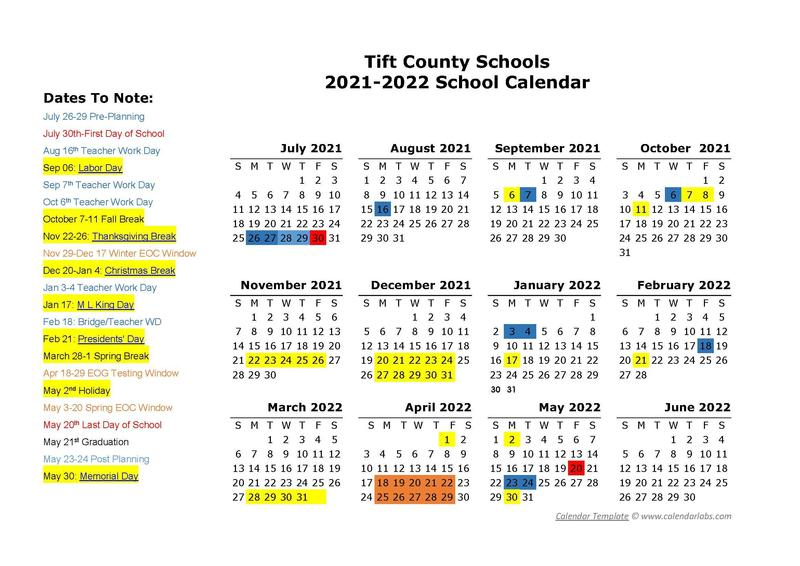 Board of Education Approves 2021-2022 School Calendar Featured Photo