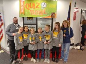 5th Grade Quiz Bowl Champions