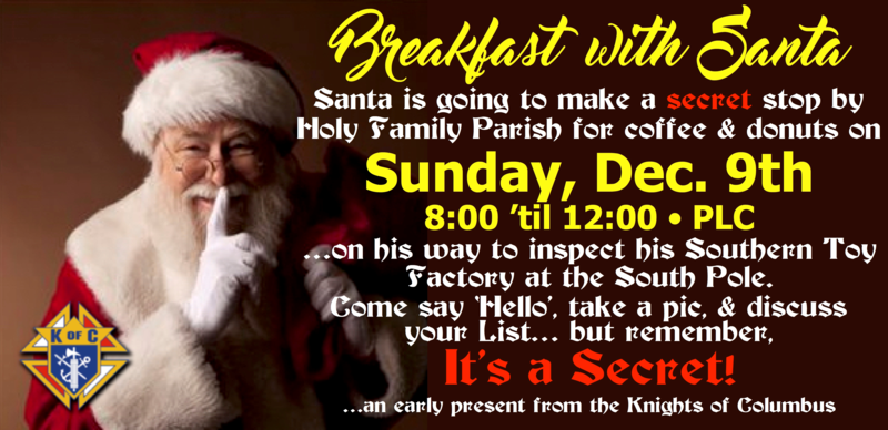 Breakfast With Santa Featured Photo