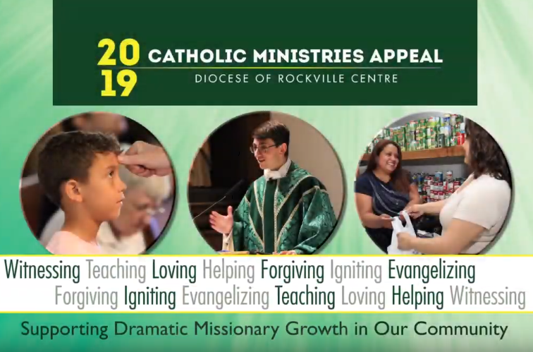 2019 Catholic Ministries Appeal Featured Photo