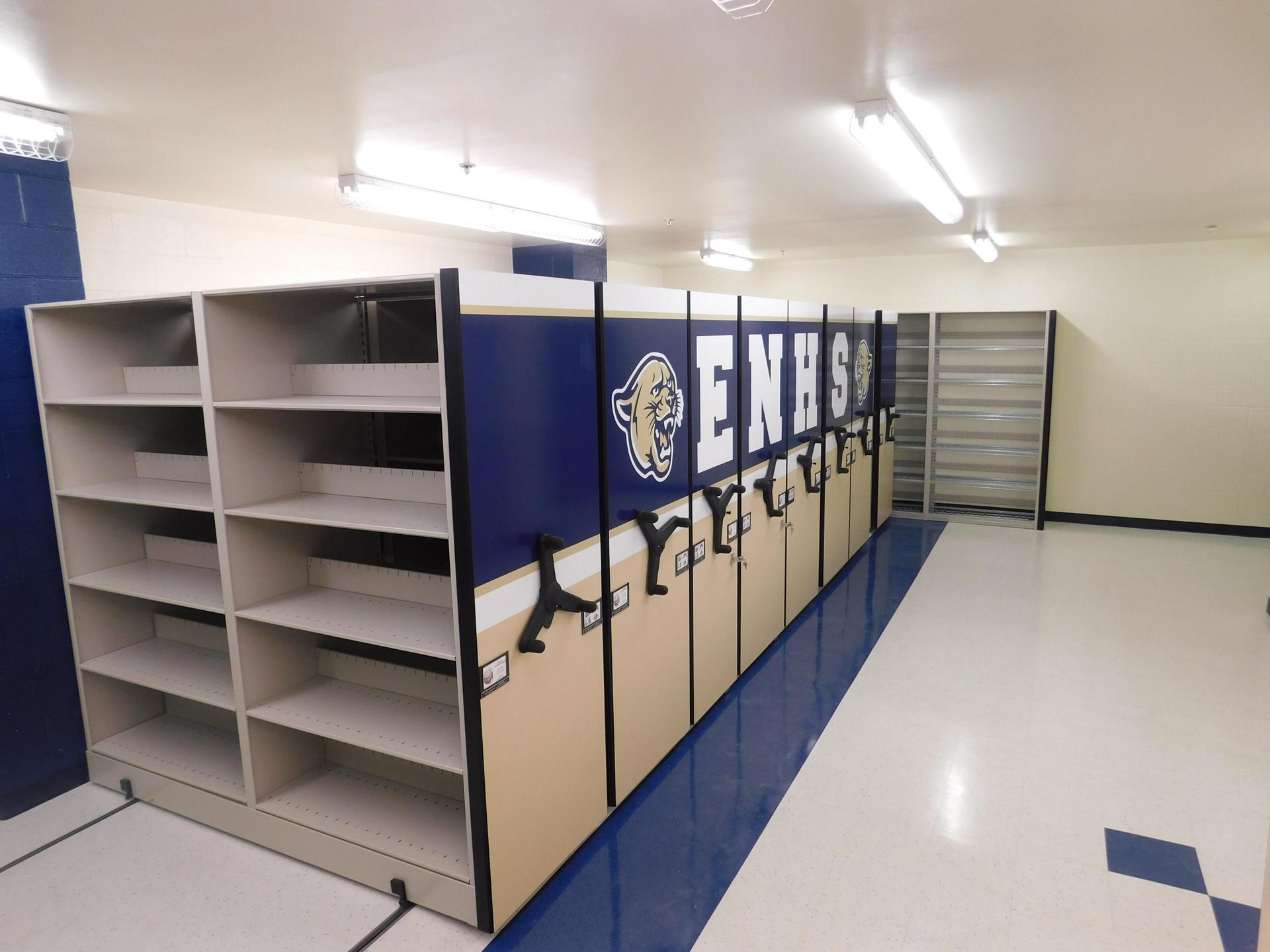 ENHS Athletic Storage Containers