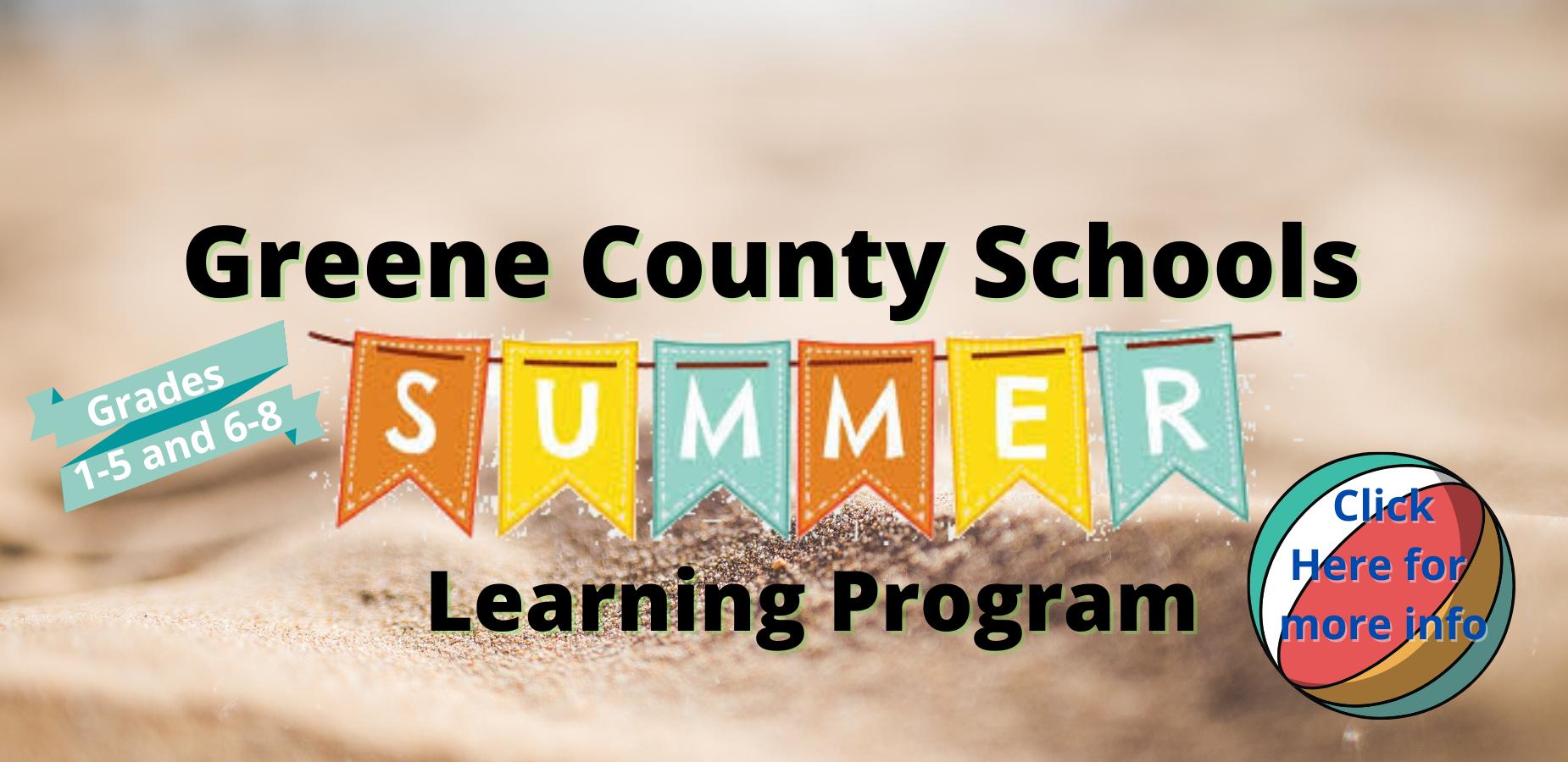Summer Learning Program 2021