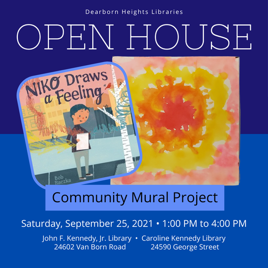 Library open house this weekend!!! Featured Photo