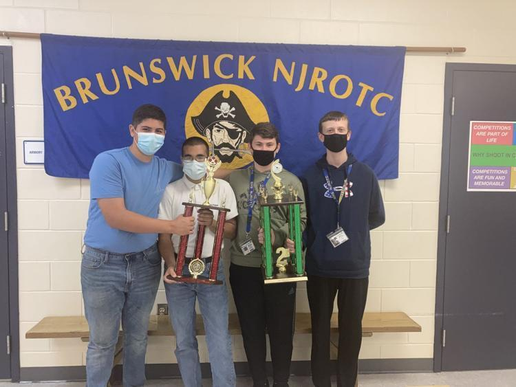 The Brunswick High School NJROTC Drone Team won third place at the Area-12 Drone Championship in McDonough.