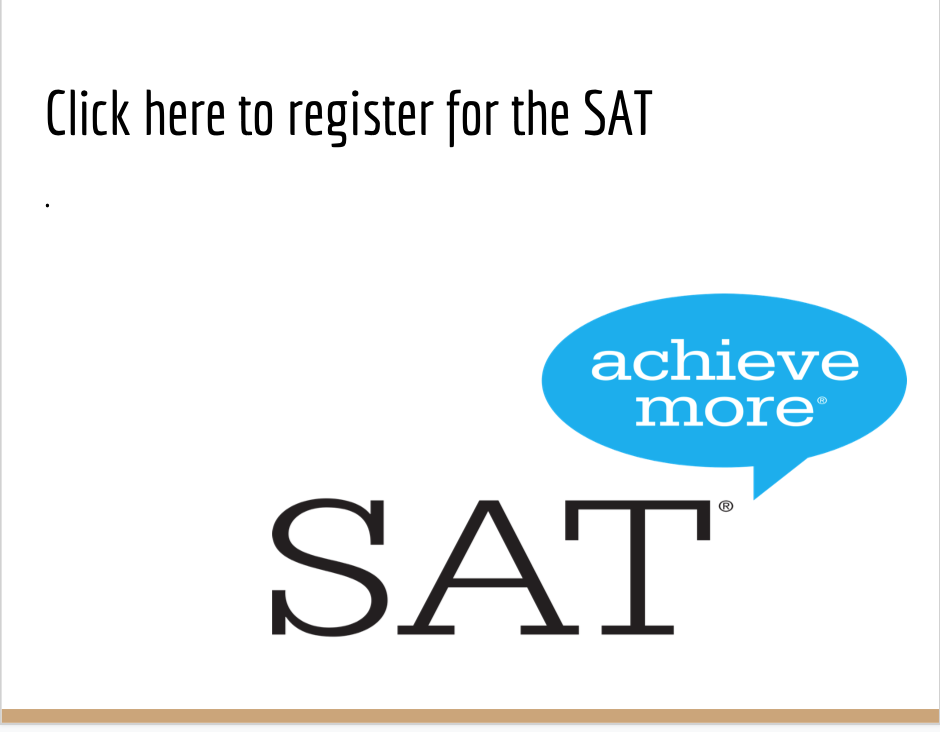 Click here to register for SAT