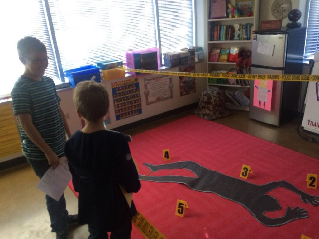 Solving the crime scene