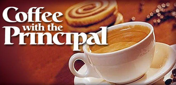 Coffee with the Principal clip art